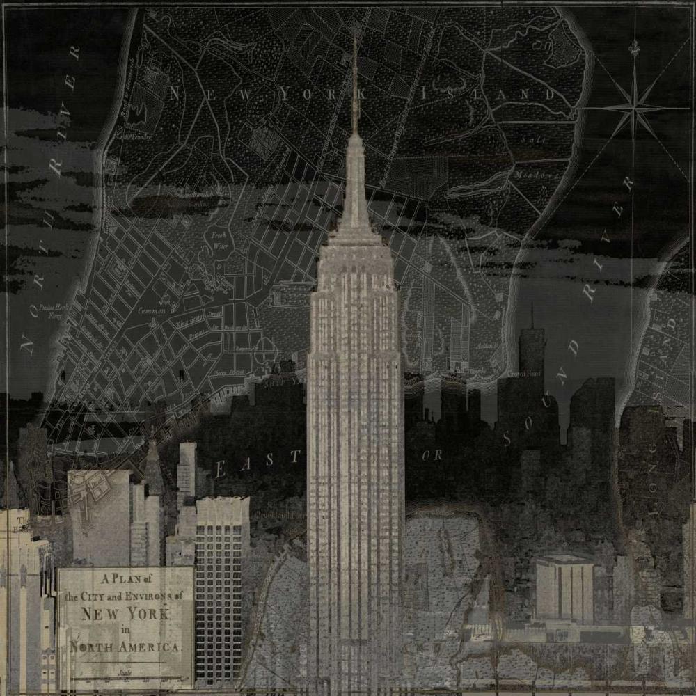 Vintage New York in Black I Matthews, Dylan 53117