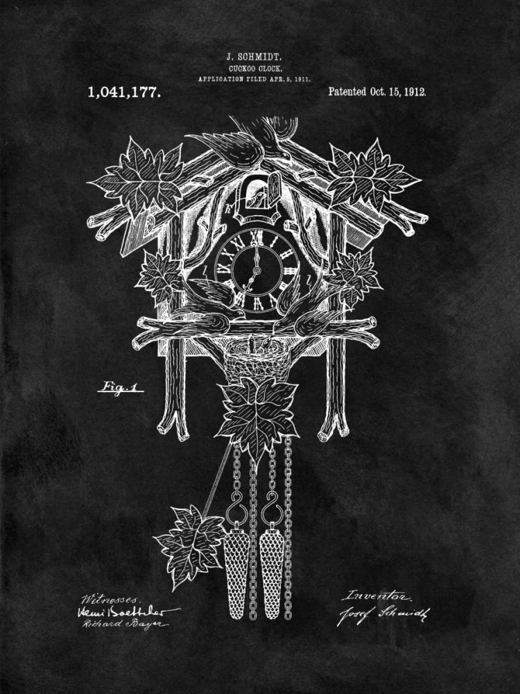 Cuckoo Clock - 1912-Black Sproul, Dan 125029