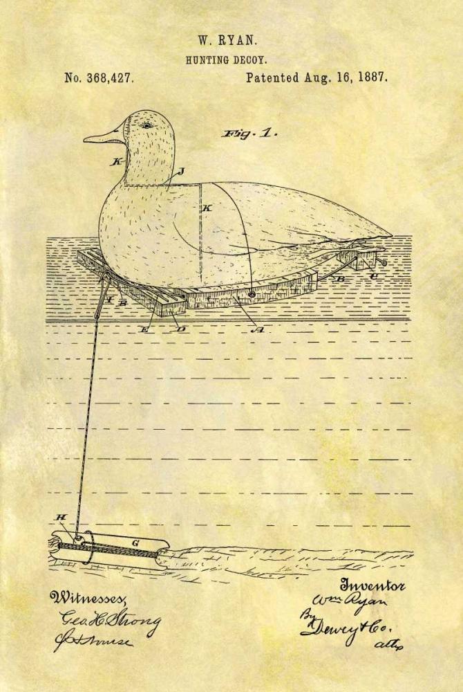 Hunting Decoy - 1887 Sproul, Dan 125047