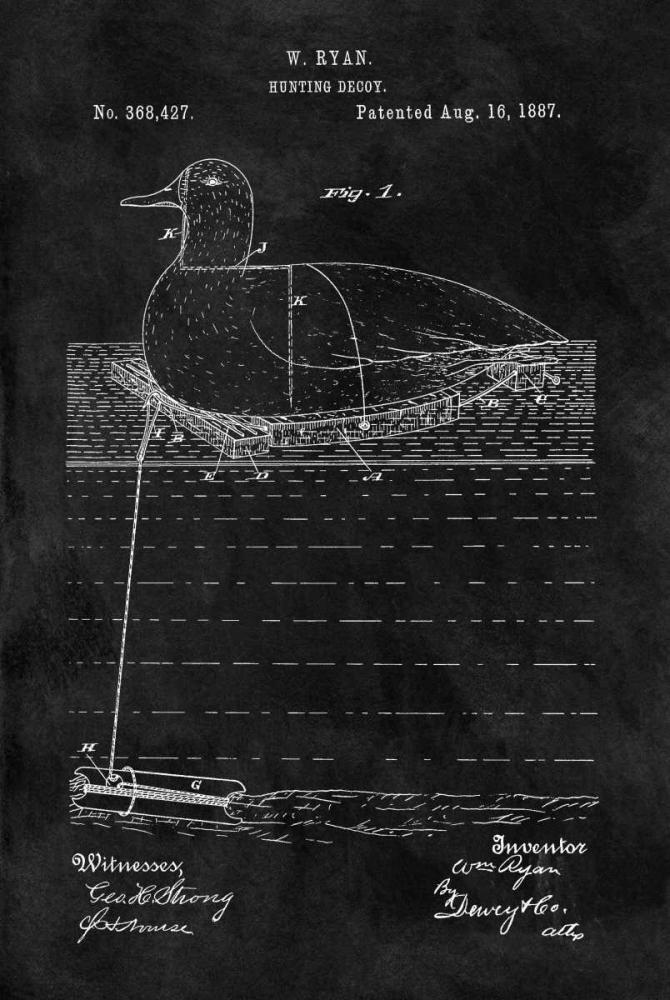 Hunting Decoy - 1887-Black Sproul, Dan 125048