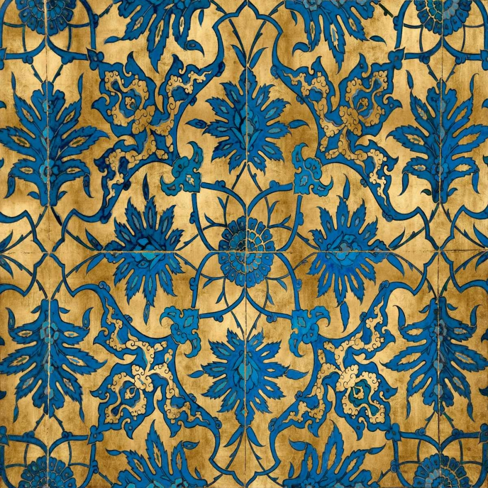 Ornate In Gold and Blue Roberts, Ellie 52709