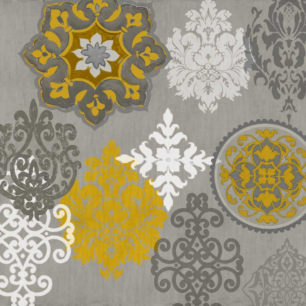 Decorative Ornaments In Gold I Roberts, Ellie 52711