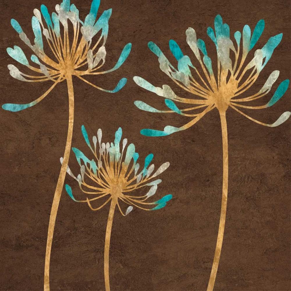 Teal Bloom I Lange, Erin 54344