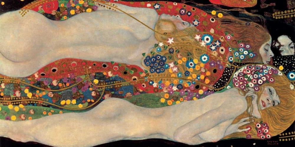 Sea Serpents Klimt, Gustav 54538