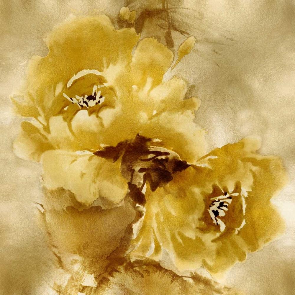 Flower Bloom on Gold II Stevens, Jesse 125180