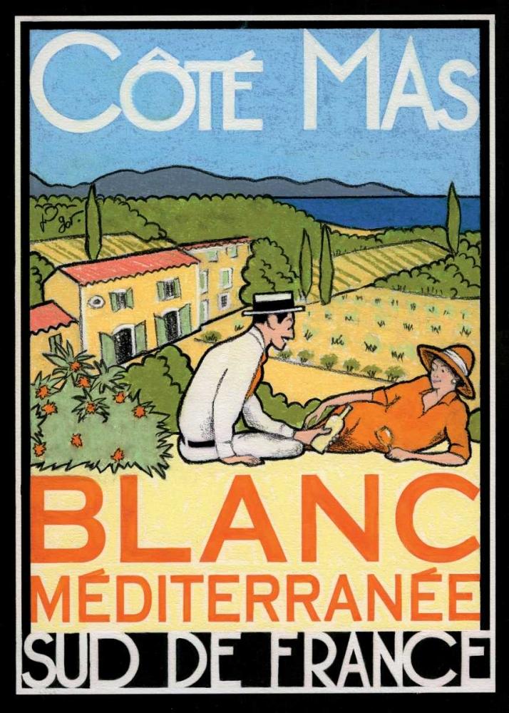 Blanc Mediterranee Got, Jean-Pierre 61979