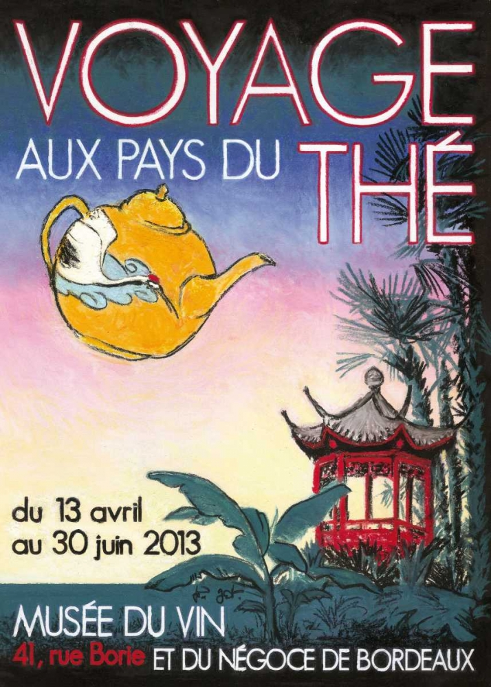 Voyage aux pays des thes Got, Jean-Pierre 61990