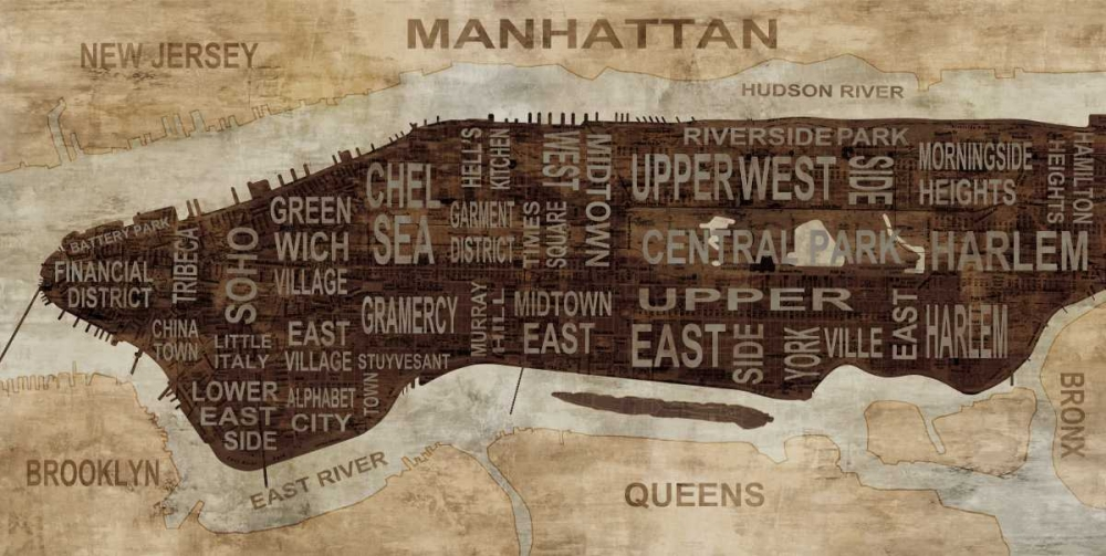 Manhattan Neighborhoods Wilson, Luke 54913