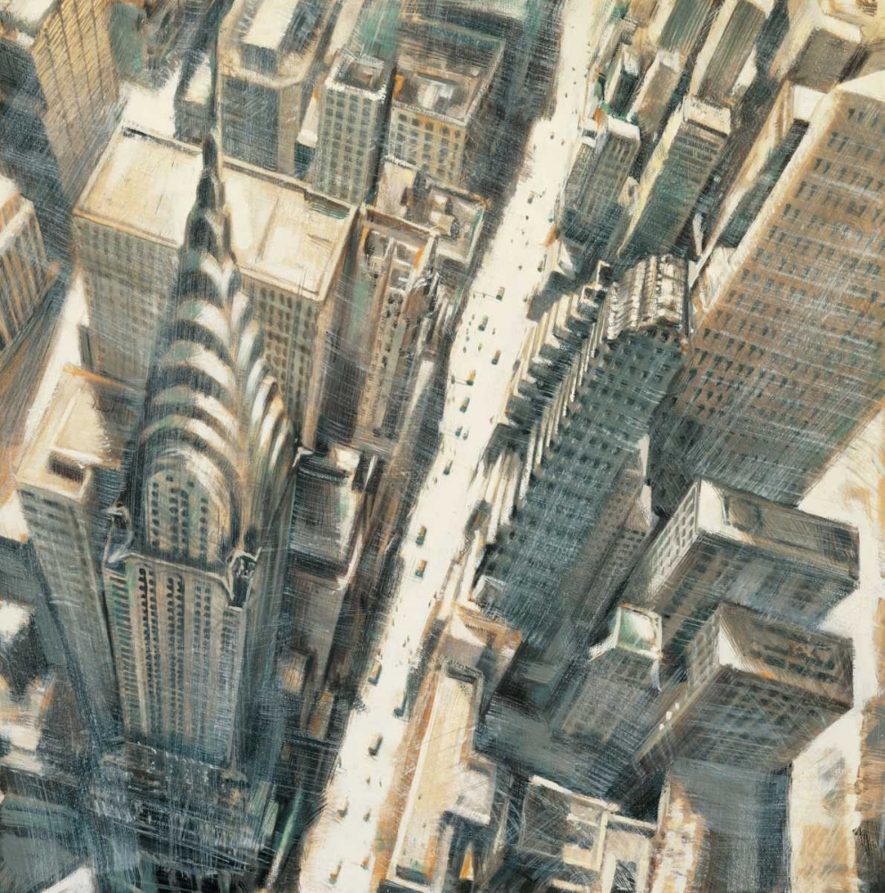 Aerial View of Chrysler Building Daniels, Matthew 54957