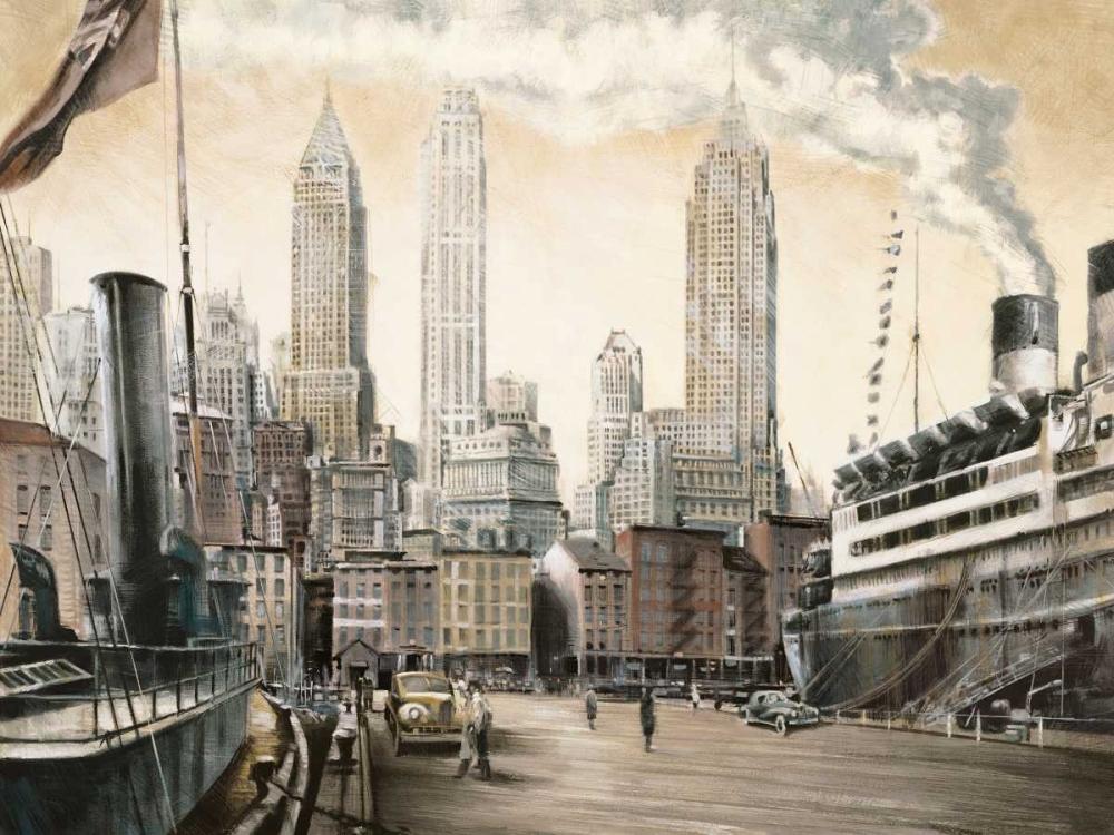 Departure-New York Daniels, Matthew 53197