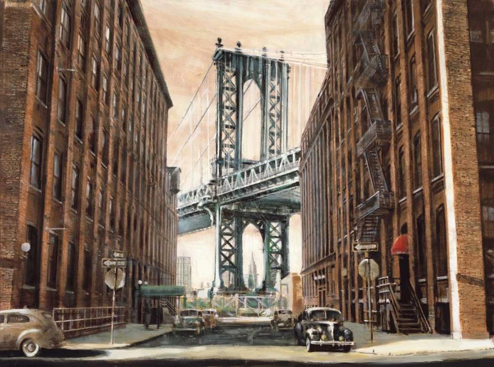 View to the Manhattan Bridge Daniels, Matthew 54976