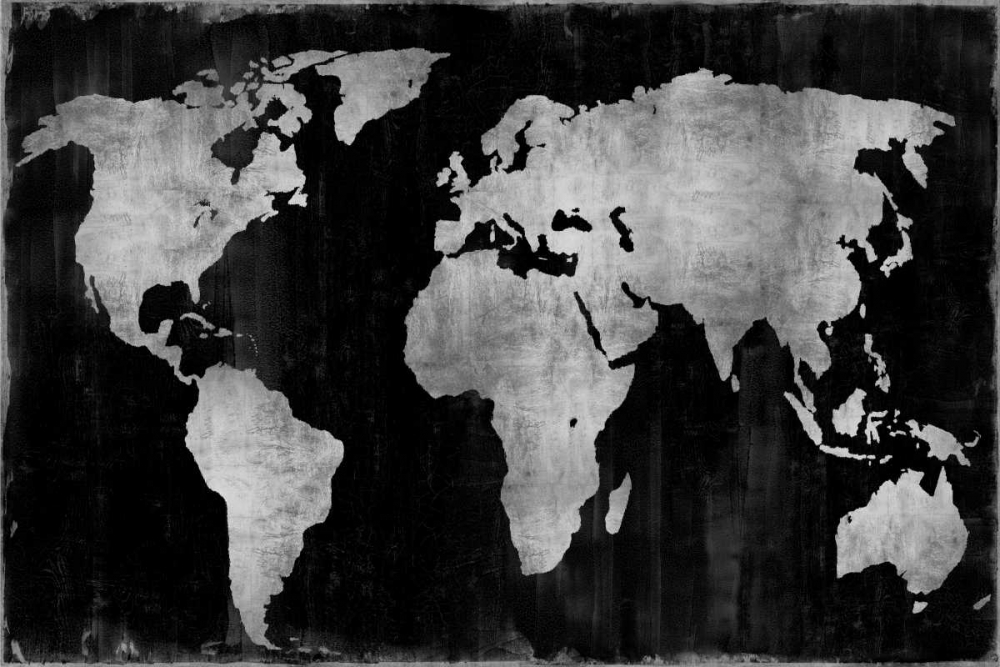 The World - Silver on Black Brennan, Russell 88172