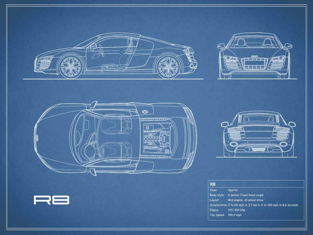 Audi R8 V10-Blue Rogan, Mark 125582
