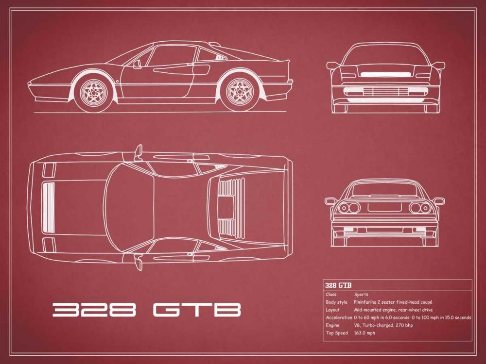 Ferrari 328-GTB-Maroon Rogan, Mark 125601