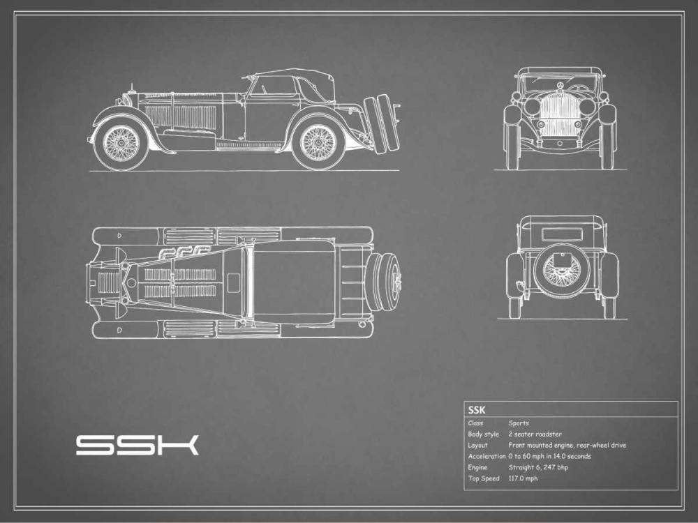 Mercedes SSK-Grey Rogan, Mark 125638