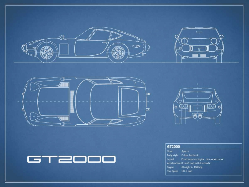 Toyota GT2000-Blue Rogan, Mark 125660