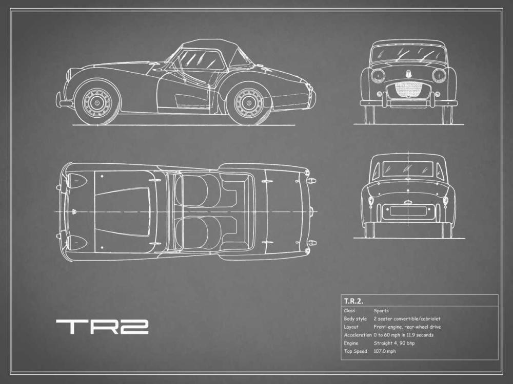 Triumph TR2-Grey Rogan, Mark 125662