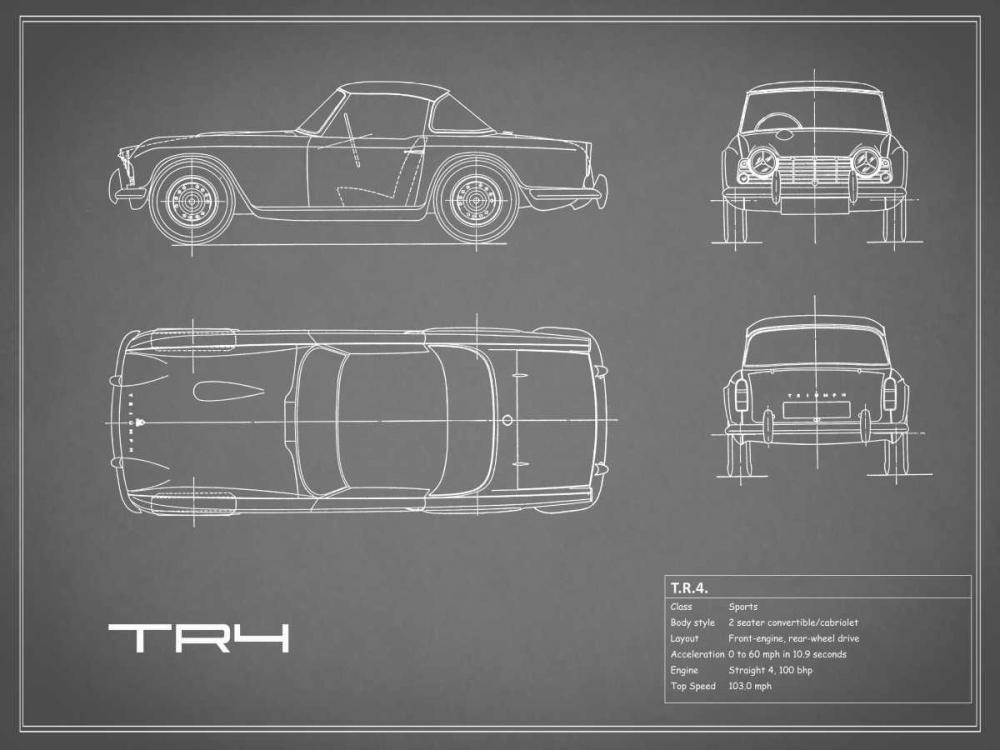 Triumph TR4-Grey Rogan, Mark 125665
