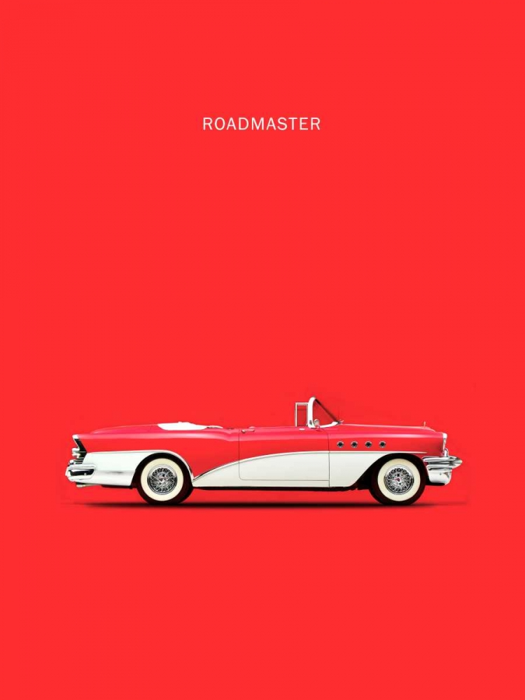 Buick Roadmaster 55 Red Rogan, Mark 125317