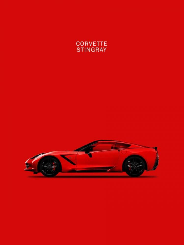 Chev Corvette-Stingray Red Rogan, Mark 125321