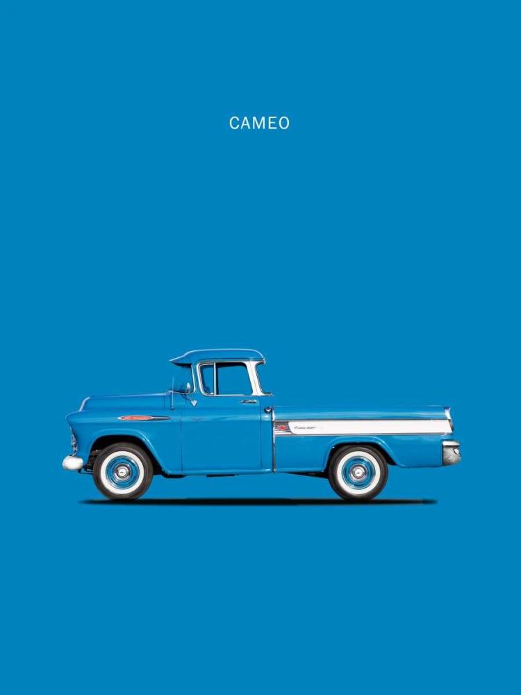 Chevrolet Cameo Pickup 1957 Bl Rogan, Mark 125322