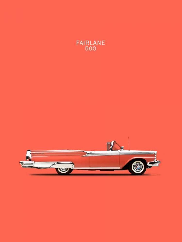 Ford Fairlane 500 1959 Rogan, Mark 125334