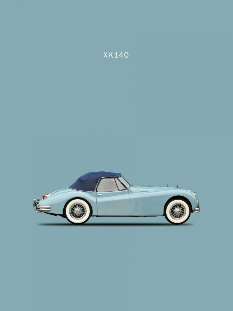 Jaguar XK140 Blue Rogan, Mark 125345