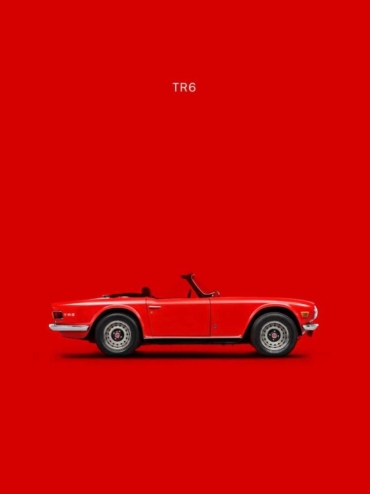 Triumph TR6 Red Rogan, Mark 125363