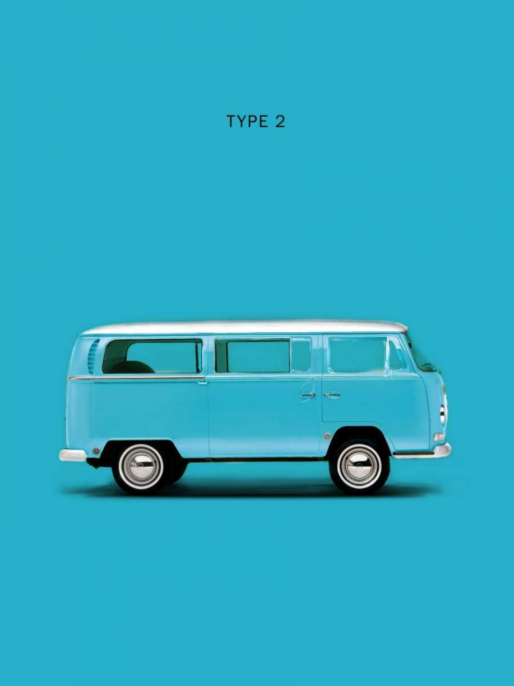 VW Type 2  Sky Blue Rogan, Mark 125367