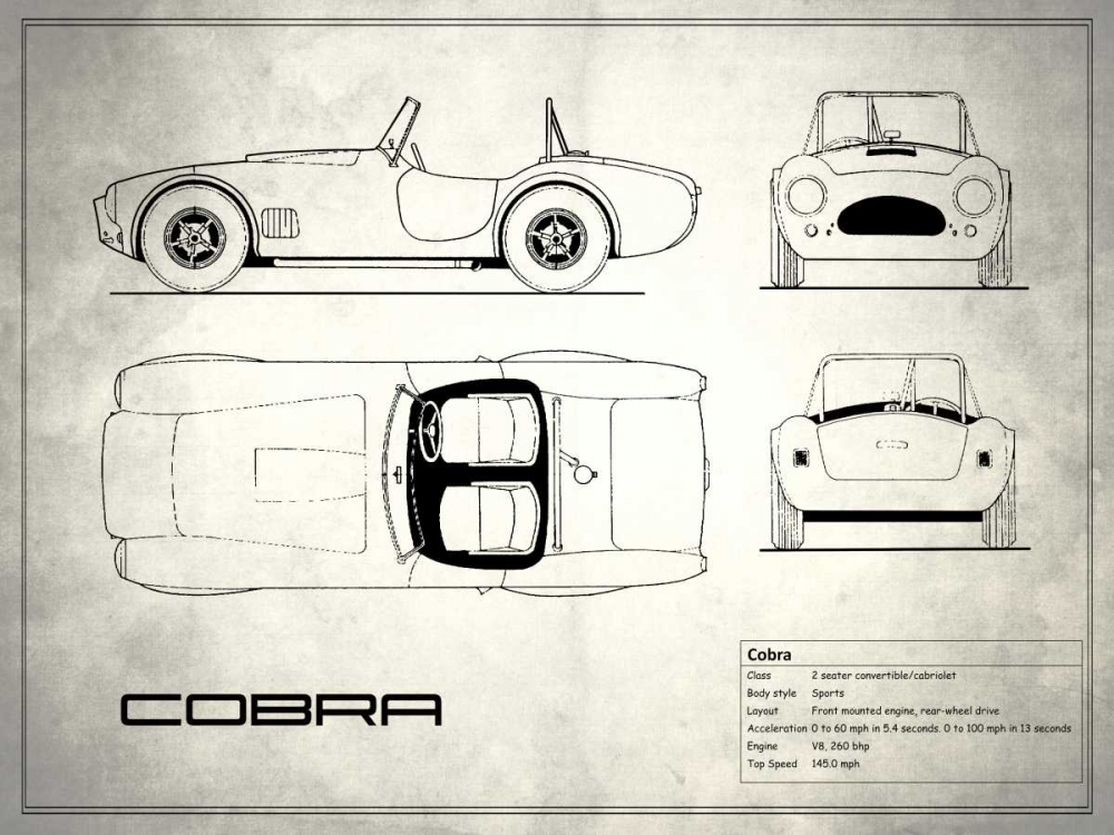 AC Cobra White Rogan, Mark 125368