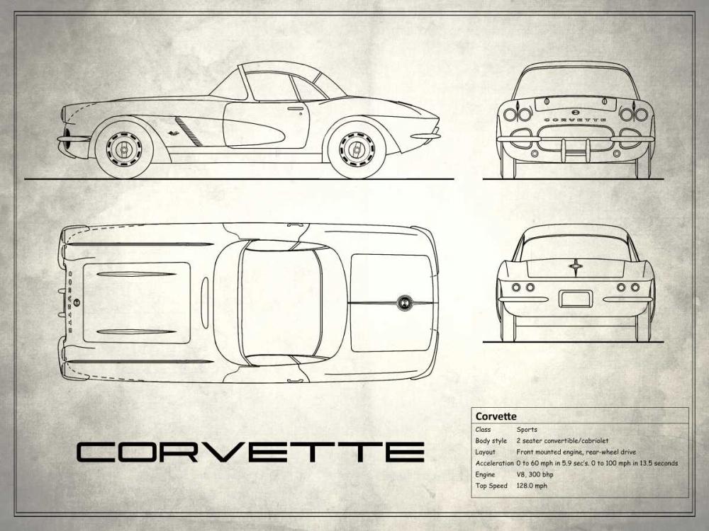 Corvette 33BHP White Rogan, Mark 125373