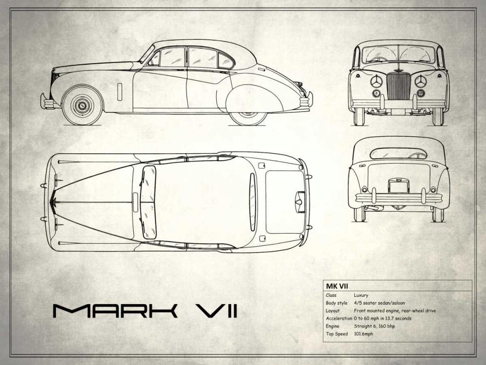 Jaguar Mk VII White Rogan, Mark 125382