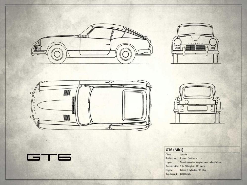 Triumph GT6 Mk1 Rogan, Mark 125401