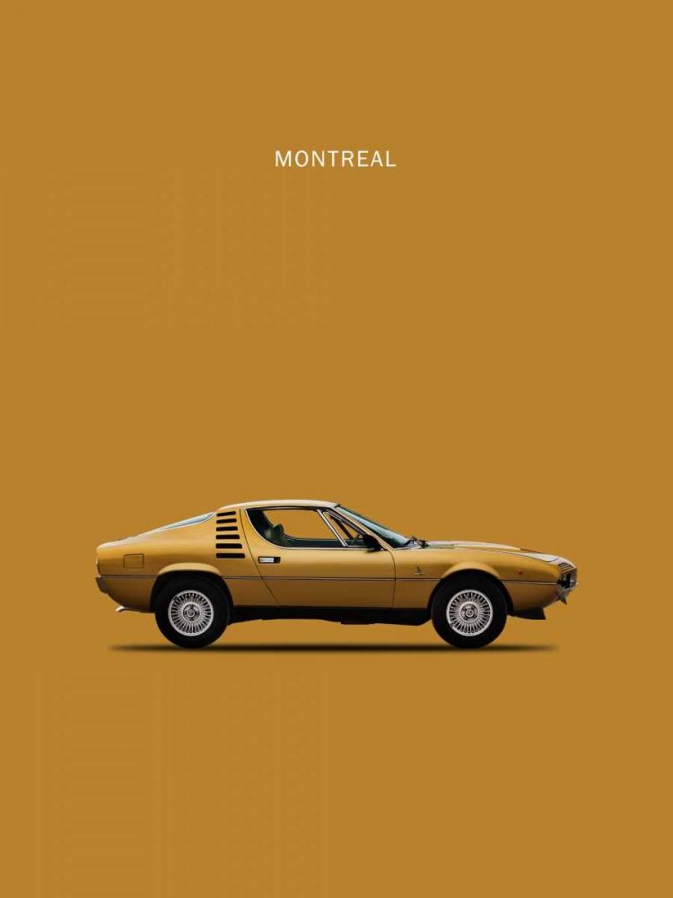 Alfa Romeo Montreal 1972 Rogan, Mark 125407
