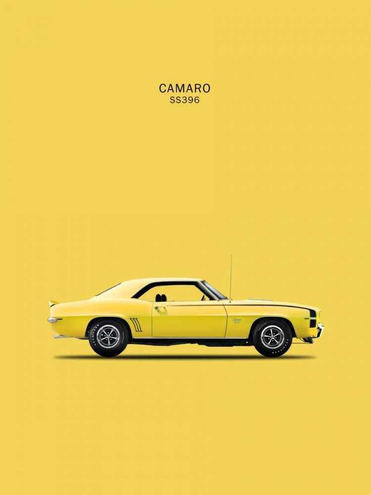 Chevy Camaro SS396 1969 Rogan, Mark 125441