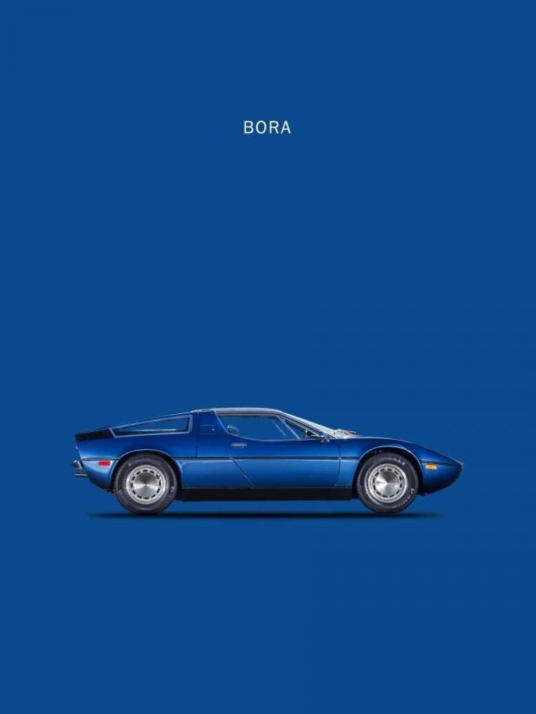 Maserati Bora 1973 Rogan, Mark 125453
