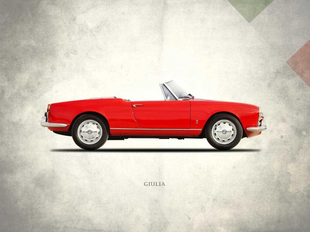 Alfa-Romeo Giulia 1600 Spider Rogan, Mark 125465