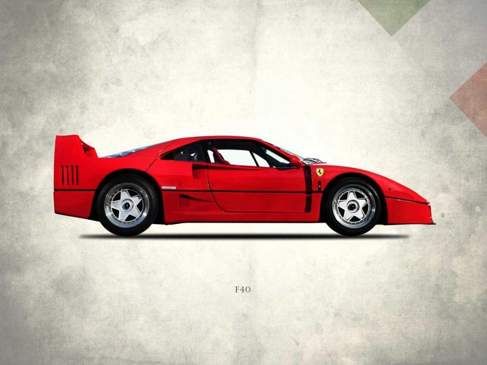 Ferrari F40 Berlinette 1992 Rogan, Mark 125482