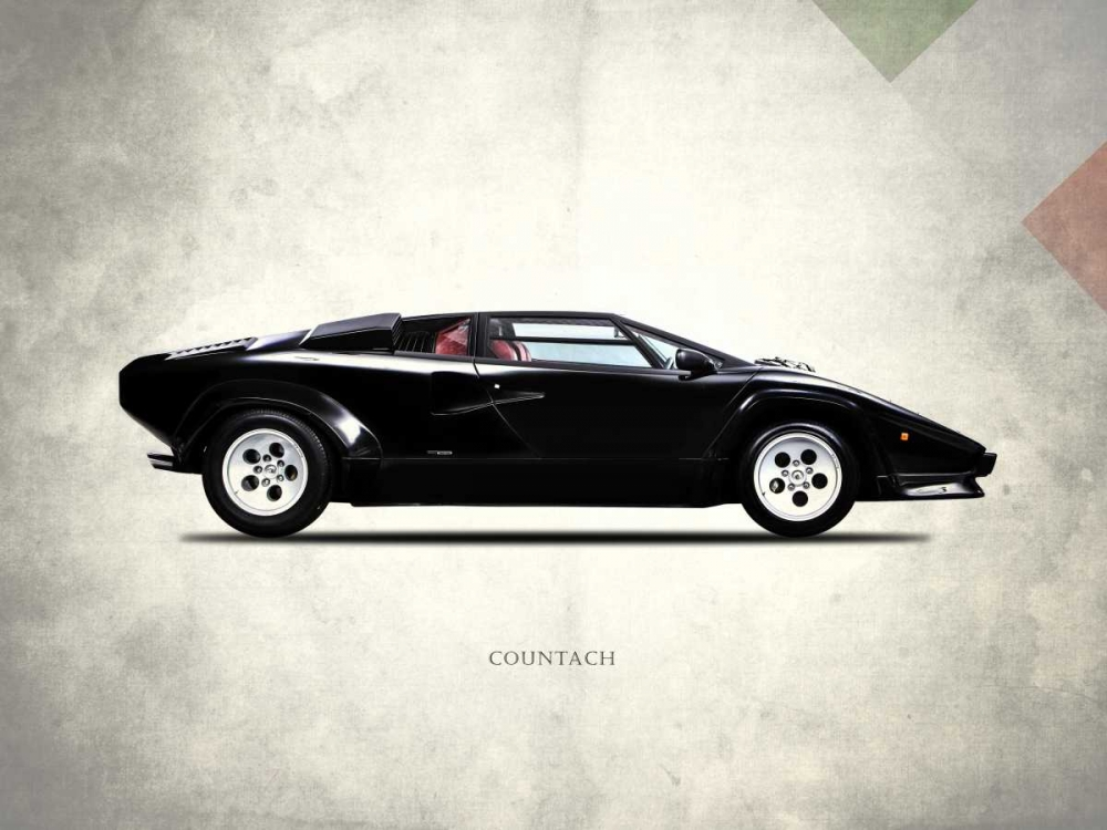 Lamborghini Countach 5000-S 19 Rogan, Mark 125487