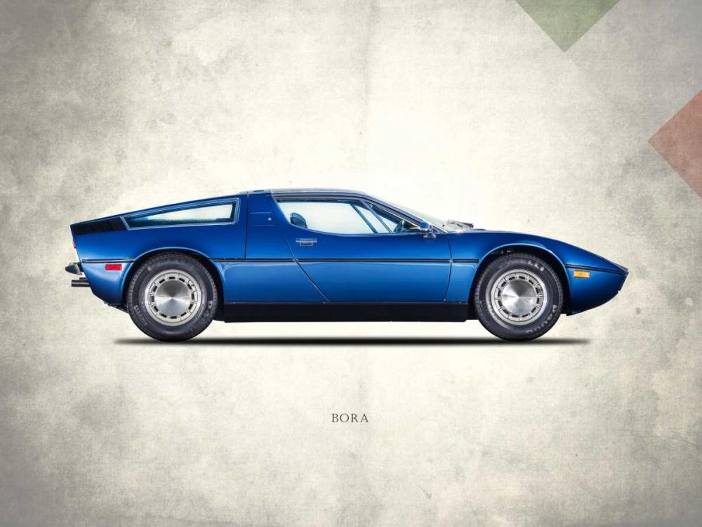 Maserati Bora 1973 Rogan, Mark 125497