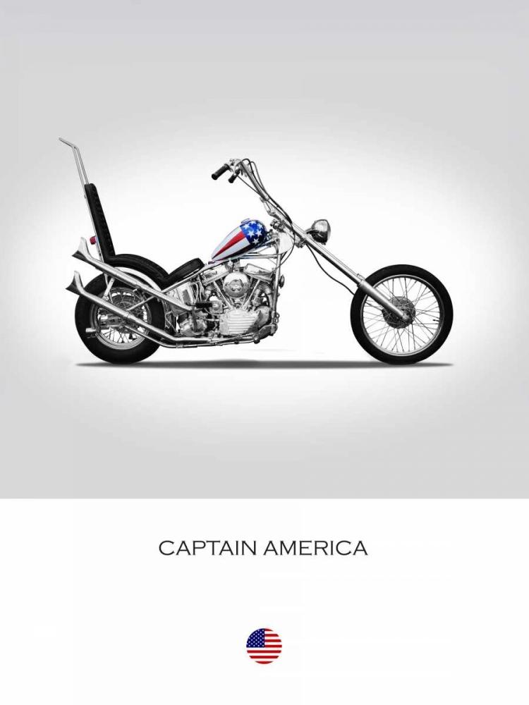 Harley Davidson Captain Americ Rogan, Mark 150742