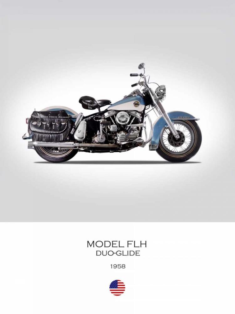 HD Model FLH Duo Glide 1958 Rogan, Mark 150749