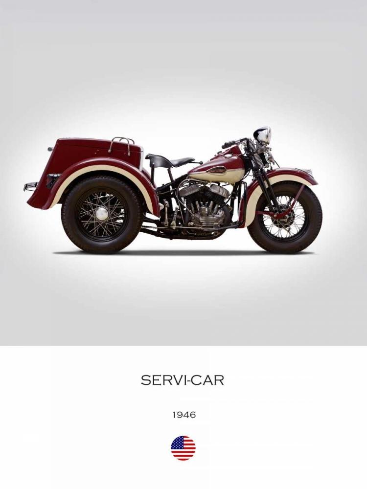 Harley Davidson Servi Car 1946 Rogan, Mark 150757