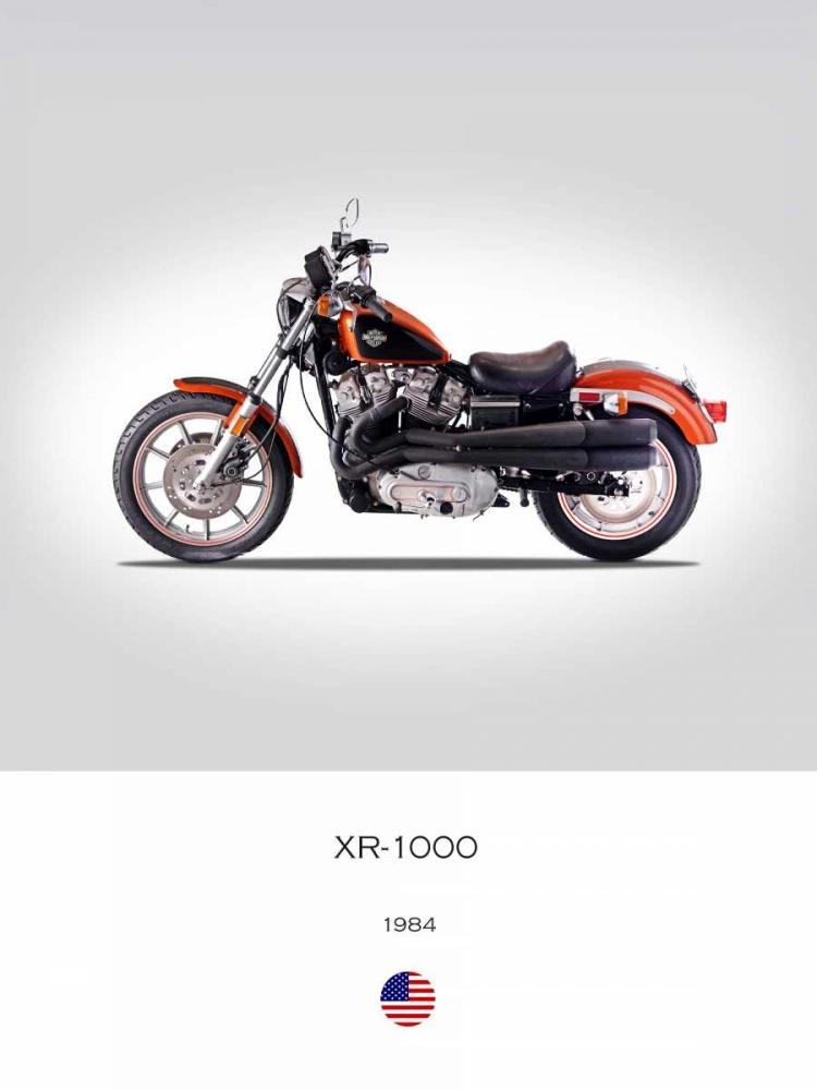 Harley Davidson XR 1000 1984 Rogan, Mark 150764