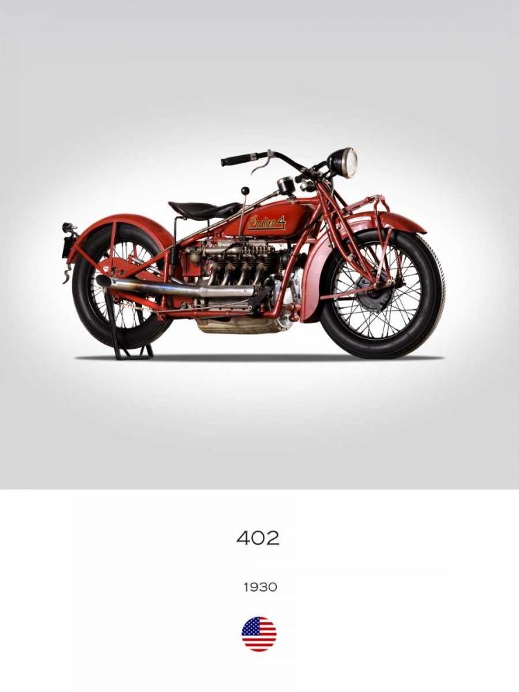Indian 402 1930 Rogan, Mark 150768