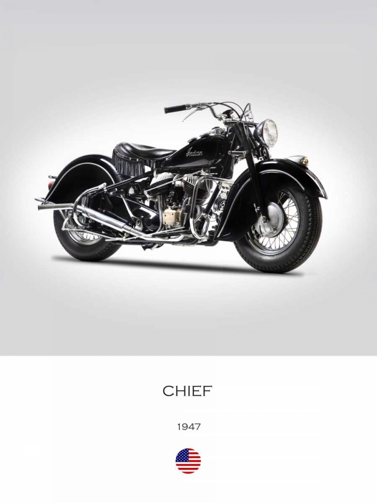 Indian Chief Type 347 1947 Rogan, Mark 150777