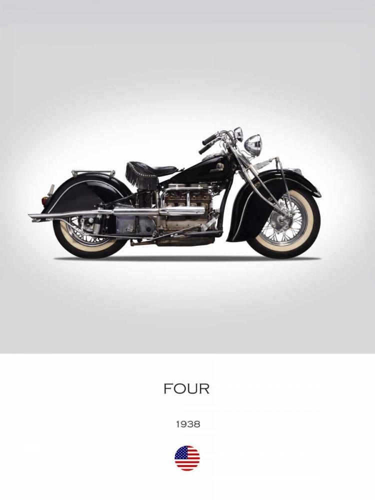 Indian Four 1938 Rogan, Mark 150778