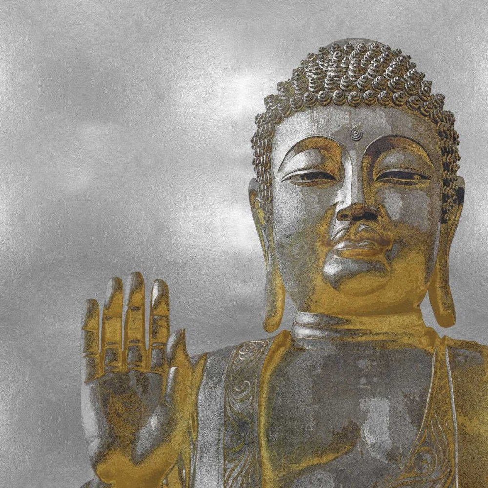 Silver and Gold Buddha Bray, Tom 88214