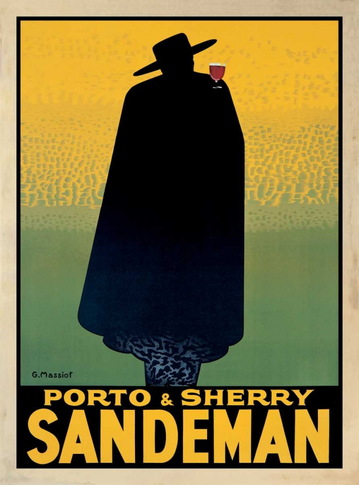 Porto and Sherry Sandeman Massiot, Georges 54407