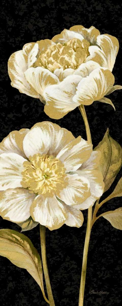 Touch of Gold on black Panel II Gladding, Pamela 105983